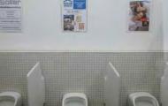 WC - Werbung